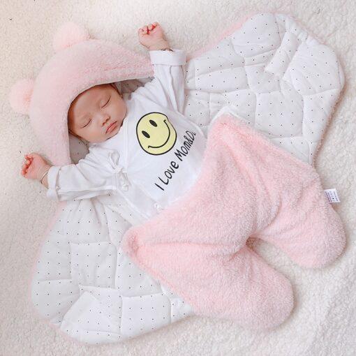 baby blanket swaddle cotton soft newborn baby swaddle me wrap sleepping bag decke cobertor infantil bebek