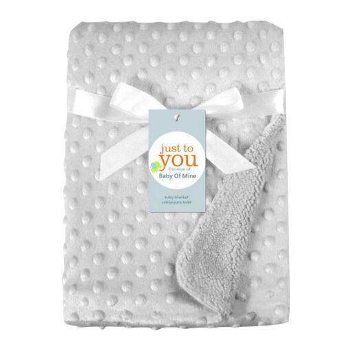 baby blankets Newborn Baby Solid Blanket Swaddling Thermal Soft Fleece Blanket Bedding Quilt kocyk dla dziecka 4