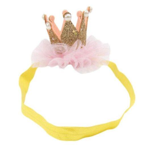 baby girl hair accessories baby headbands flower crown kids elastic hair bands hair ties headband baby 3