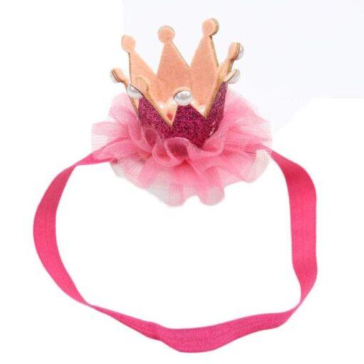 baby girl hair accessories baby headbands flower crown kids elastic hair bands hair ties headband baby 4