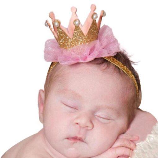baby girl hair accessories baby headbands flower crown kids elastic hair bands hair ties headband baby