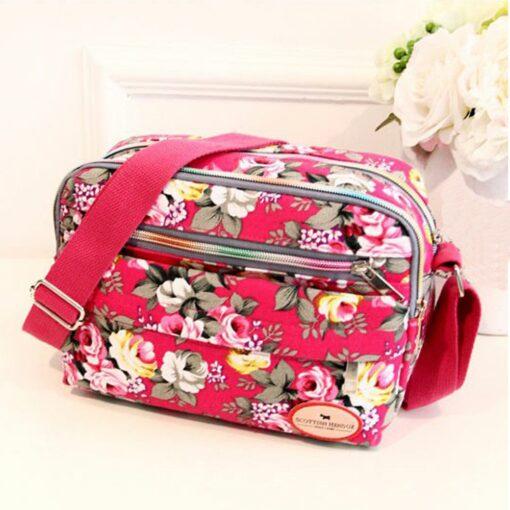 fashion Women Canvas Bag Capital Baby Bags for Mom Shoulder Bag Adjustable Strap Backpack Portable Maternity 3