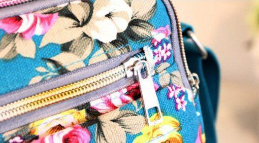 fashion Women Canvas Bag Capital Baby Bags for Mom Shoulder Bag Adjustable Strap Backpack Portable Maternity 5