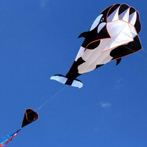 free shipping dolphin soft kite nylon fabric kite line animated kites fishing inflatable kite outdoor toy 1