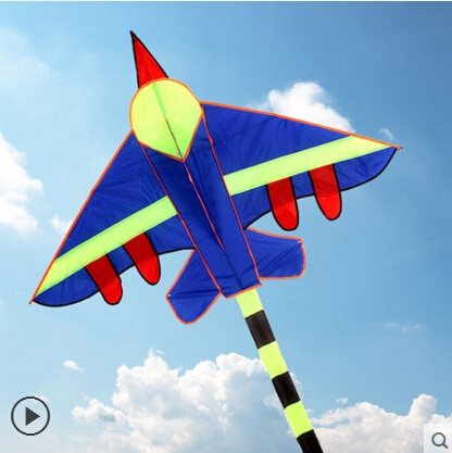 free shipping high quality long tails fighter kite children kites wholesale with handle line hcxkite factory 1