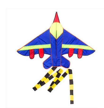 free shipping high quality long tails fighter kite children kites wholesale with handle line hcxkite factory 2