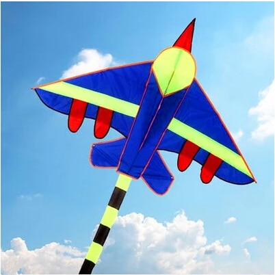free shipping high quality long tails fighter kite children kites wholesale with handle line hcxkite factory 3