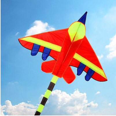 free shipping high quality long tails fighter kite children kites wholesale with handle line hcxkite factory