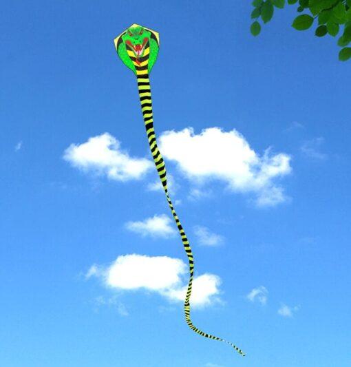 free shipping large snake kite fly toys ripstop nylon kite sports outdoor children kite weifang cobra 2