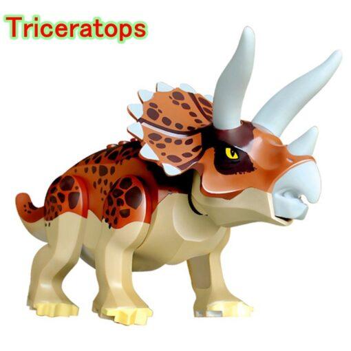jurassic Dinosaur park Indominus Rex DIY Blocks Dinosaurs Tyrannosaurus Rex Tiny Models Building Block Kids Toys 1