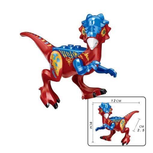 jurassic Dinosaur park Indominus Rex DIY Blocks Dinosaurs Tyrannosaurus Rex Tiny Models Building Block Kids Toys 4