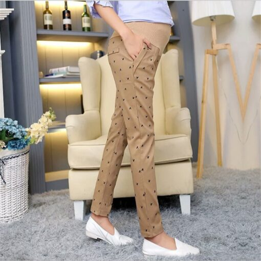 maternity work pants pregnancy pants extender maternity office wear clothing fashion maternity trousers adjuster premama clothes 2