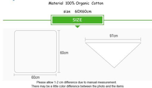 new Cotton Blankets Newborn Soft Organic Cotton Blanket Muslin Swaddle Wrap Feeding Burp Cloth Towel Scarf 2