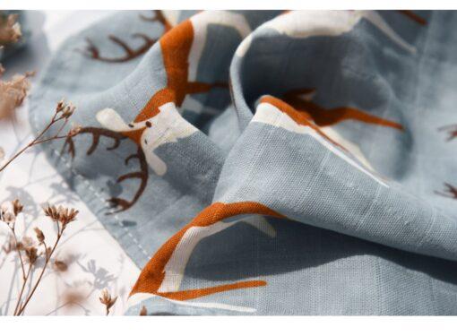 new Cotton Blankets Newborn Soft Organic Cotton Blanket Muslin Swaddle Wrap Feeding Burp Cloth Towel Scarf 4