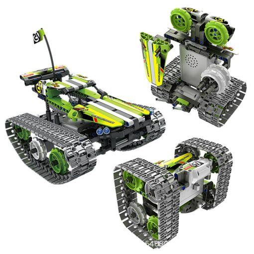 new STEM toys kids building blocks motor rc auto legoINGlys technical car with remote control set 3