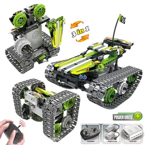 new STEM toys kids building blocks motor rc auto legoINGlys technical car with remote control set