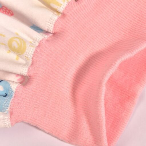new washable prevent bed wetting Pure cotton high waist nappy trousers for preventing leakage of urine 4