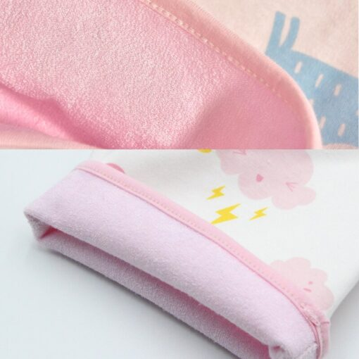 new washable prevent bed wetting Pure cotton high waist nappy trousers for preventing leakage of urine 5