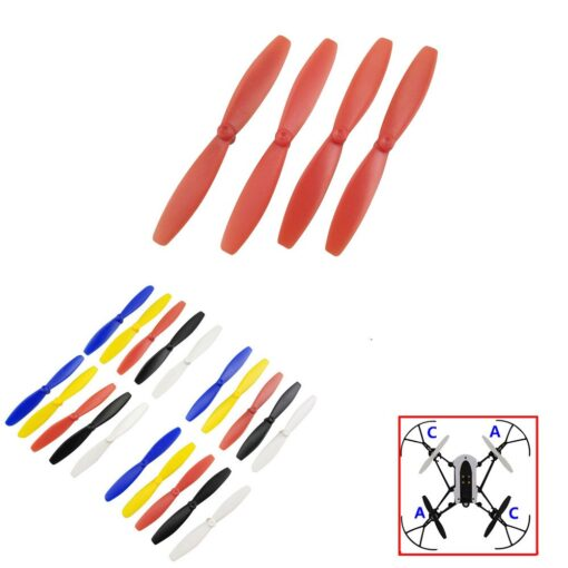 toys for children 4pc Propeller Prop CW CCW for Parrot Minidrones 3 Mambo Swing RC Drone