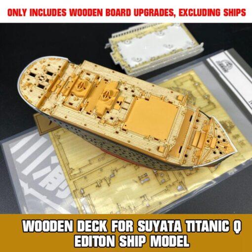 upgrade Wooden Deck for Suyata Titanic Q Editon Ship Model TMW00122 Assembly DIY Kits 3