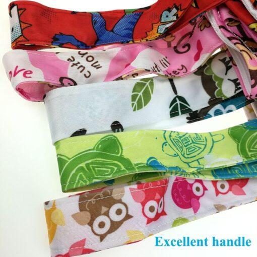 usurpon 1 pc 45 60cm Double pocket waterproof pul zipper wet bag reusable babies cloth 4